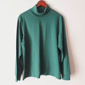 Vintage Green Turtleneck